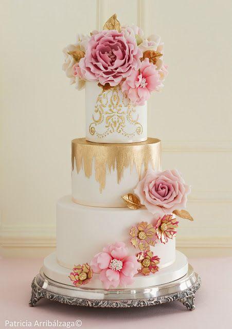 Curso de tartas de boda de alta costura de Patricia Arribálzaga