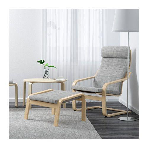 POÄNG Armchair, Birch Veneer, Finnsta Gray