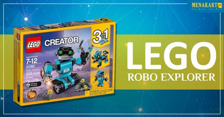 Shop for LEGO Robo Explorer Online #Toys #Games #Online #Shopping #Menakart #LEGO