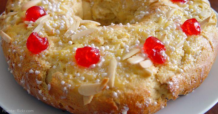 Rosca de Pascua #receta