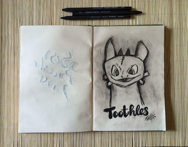 Toothless #howtotrainyourdragon