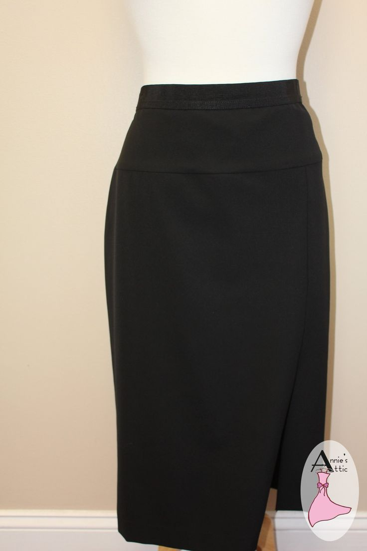 Ann Taylor skirt, size 14 Long skirt with front slit on the left side Fully lined Zip closure in the back $27.50