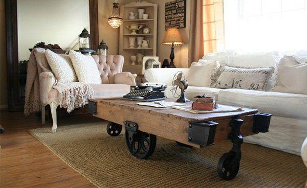 Couchtisch aus Europaletten - Aus Paletten kann man tolle Möbel basteln, mühelos und preiswert. Glauben Sie es nicht, schauen Sie sich unsere Vorschläge an
