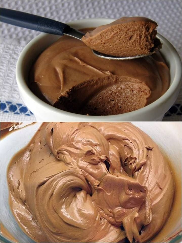 Mousse de Chocolate com 2 Ingredientes Delicioso! – Caderno de Receitas