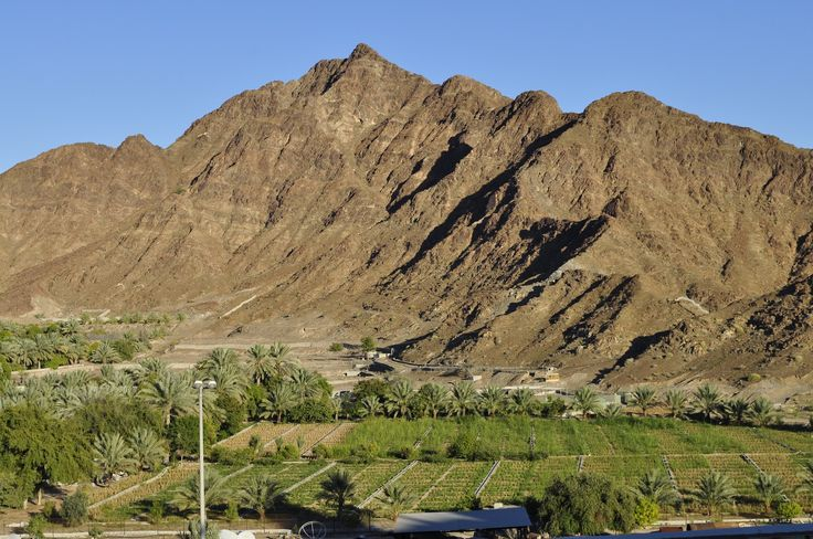 Fujairah beautiful city of UAE.