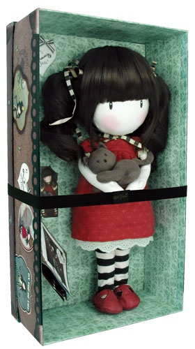 Here is Ruby in her little box - Santoro - Gorjuss : Ruby Collectable Doll at Campus Gifts