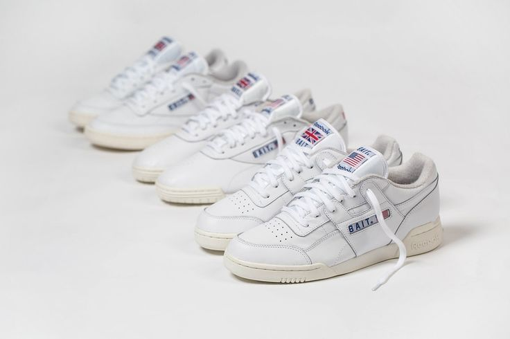 BAIT Reebok West East Pack Exofit Lo Workout Club C 2018 february 15 release date info collaboration sneakers shoes footwear