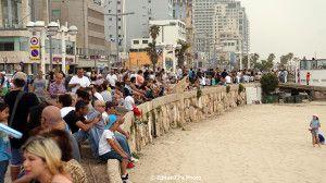 Prin Tel Aviv de Yom Ha'atzmaut, Ziua Independentei Israelului