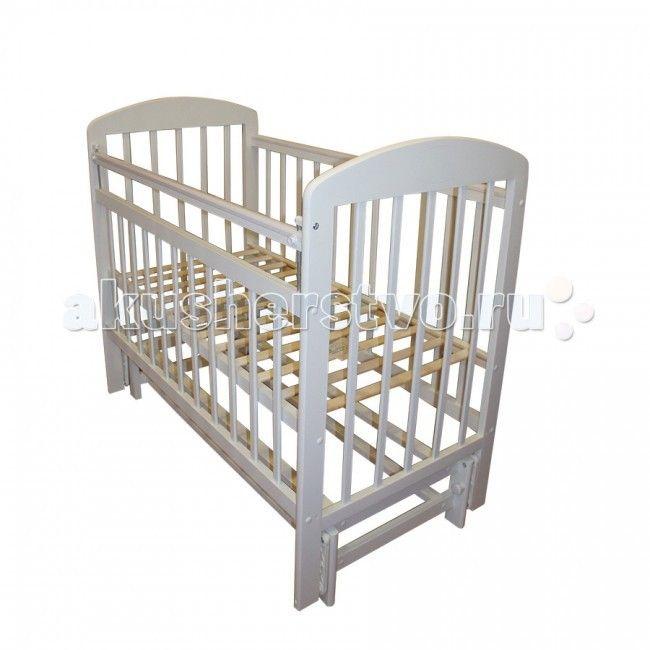 Детская кроватка Ивашка Мой малыш 9 маятник продольный  Детская кроватка Ивашка Мой малыш 9 маятник продольный выполнена из экологичных, гипоаллергенных материалов. Кроватка обладает высоким качеством и комфортом, как для ребенка, так и для родителей. Благодаря современному дизайну и спокойной, мягкой расцветке она впишется в интерьер любой спальни или детской комнаты.  Кровать изготовлена из массива березы Механизм маятника продольный Положение боковой планки регулируется опускающимся…