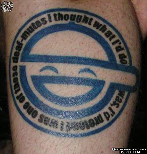 laughing man tattoo -#main