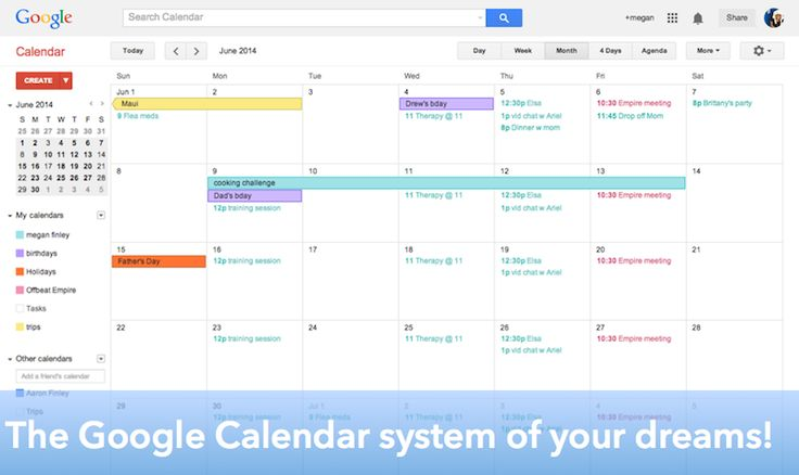 creating the online calendar system of your dreams