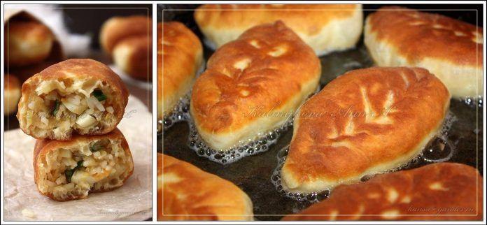 Готовлю каждые выходные двойную порцию — пирожки с рисом. Обсуждение на LiveInternet - Российский Сервис Онлайн-Дневников