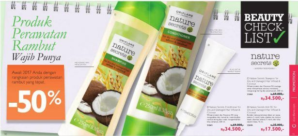 Hair Care Nature Secrets Oriflame