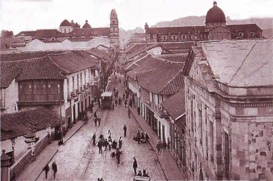 1900, Calle Real del Comercio, hoy Carrera 7a - Bogotá, Colombia