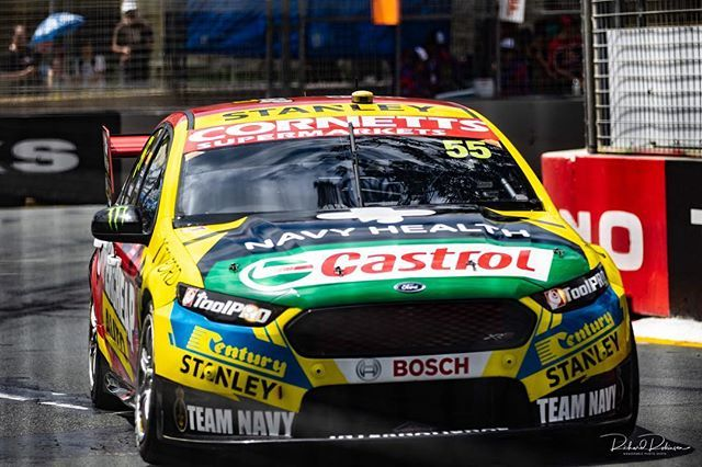 Chaz Mostert 55 Chazmostert Vasc Gc600 Ford Fordfgx Tickfordracing Goldcoast Igersgoldcoast Qld Queensland V8sup Super Cars Ford Racing Gold Coast
