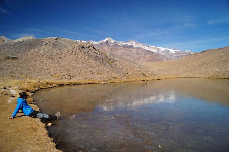 Laguna los Patos. Cajón del Maipo.