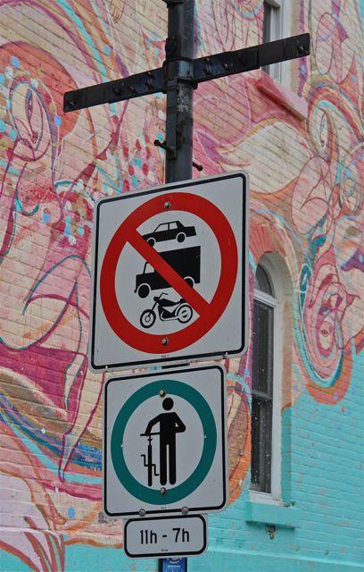 Montreal.Rue Prince Arthur E. Photo:T. Graffe