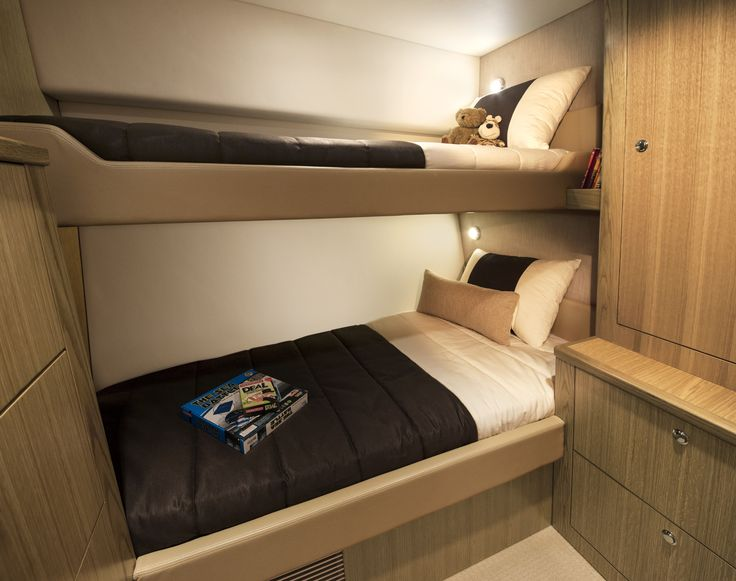 Riviera 57 Enclosed Flybridge Flybridge Guest Stateroom Starboard.