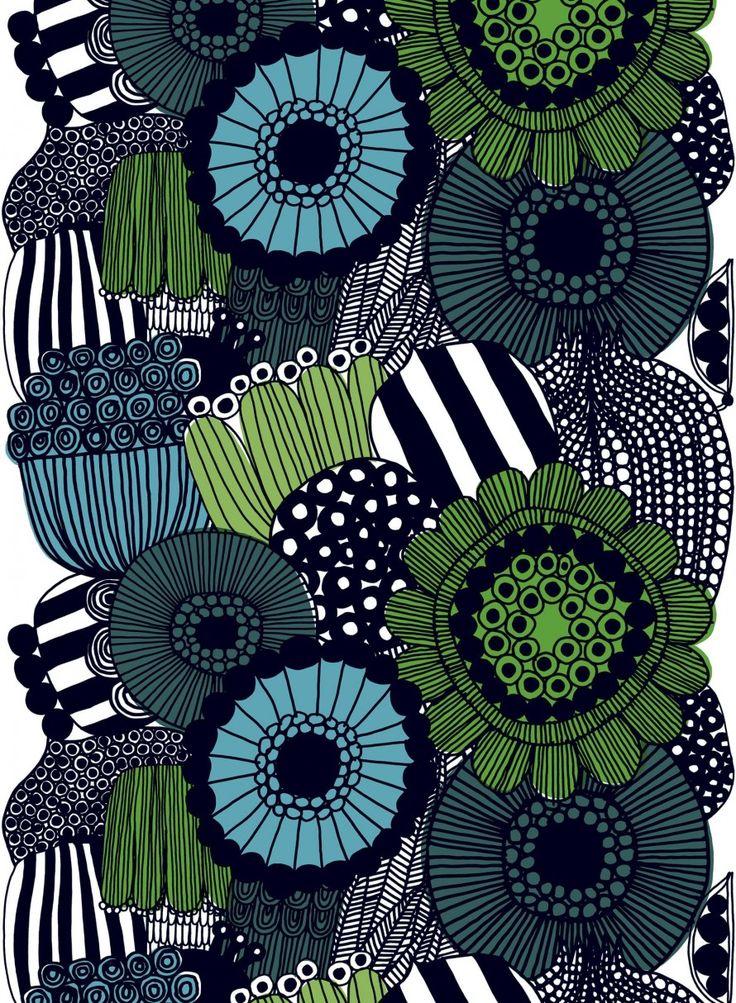 Siirtolapuutarha heavyweight cotton - All items - Fabrics - Marimekko.com