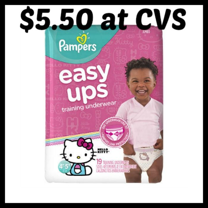 CVS - Pampers Easy Ups Jumbo Pack only $5.50! - http://dealmama.com/2017/05/cvs-pampers-easy-ups-jumbo-pack-5-50/