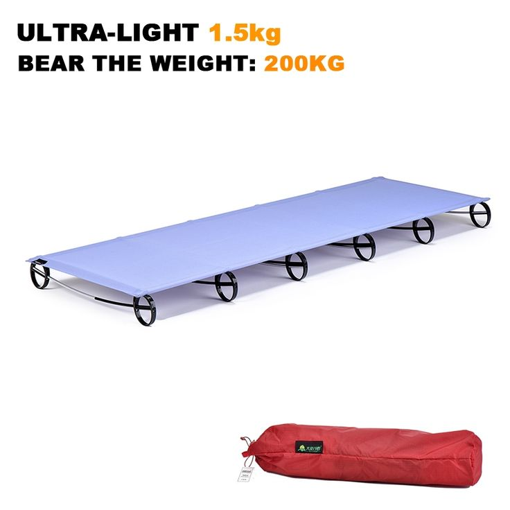 433.20$  Buy now - http://ali8xv.worldwells.pw/go.php?t=32705274913 - Wholesale! Sturdy Ultralight Portable folding tent bed camp bed beach mats travel rugs Outdoor bed Camping mattress 200 * 76 cm 433.20$