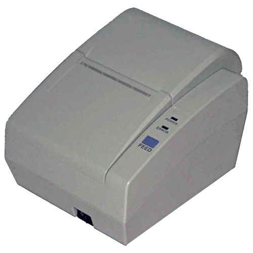Replacement: SRP-350II   	 	Compact Thermal Receipt Printer 	 	 	Fast 75 mm/sec Printing 	 	 	ESC POS, CITIZEN, STAR Compatible 	 	 	Auto Paper loading function 	 	 	Full or Partial Cut 	 	 	Both RS-232 & Parallel interface on board, selectable through different Cable