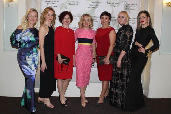www.mayatta.com- Rus Kültür Derneği Üyeleri 8 Mart Dünya Kadınlar Günü daveti düzenledi.