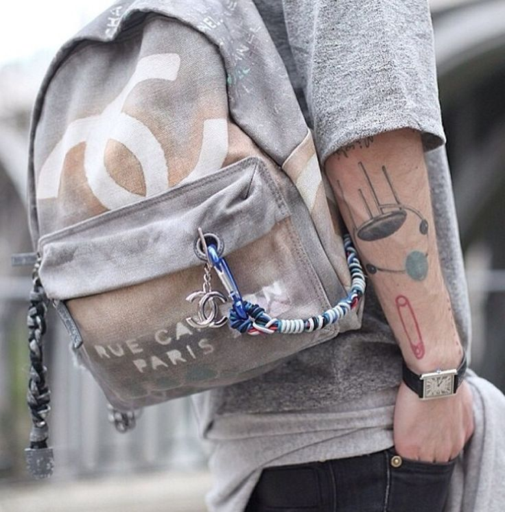 My Obsession: Chanel Graffiti Backpack - eternalstyle.org