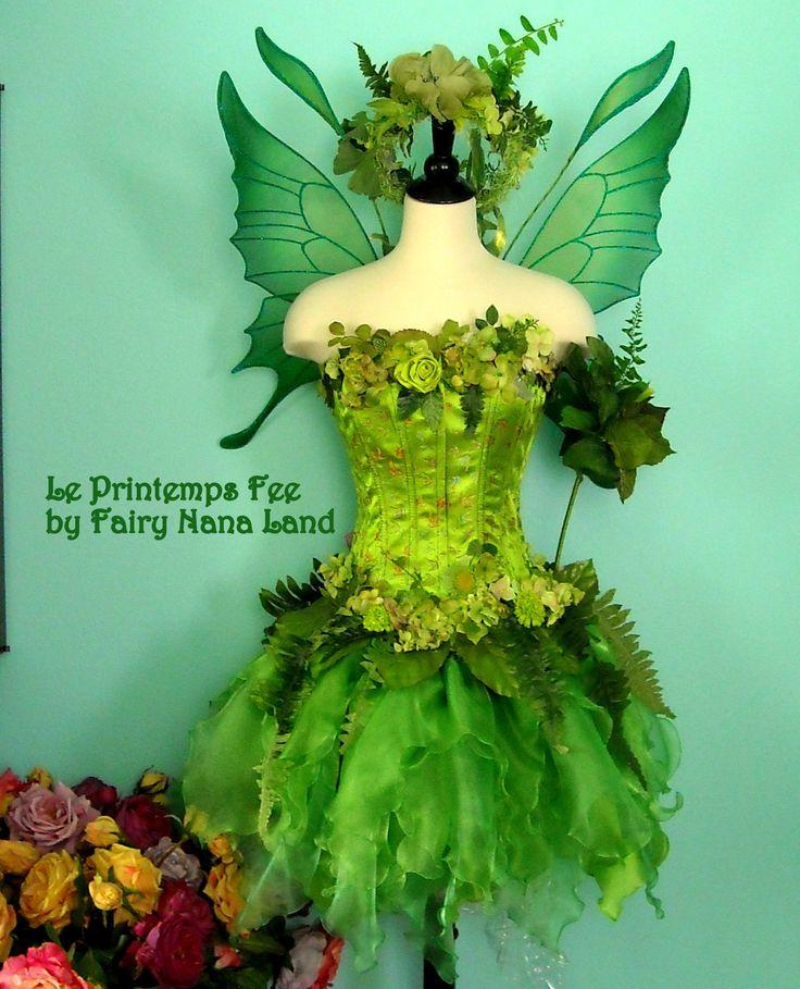 Pretty green fairy!