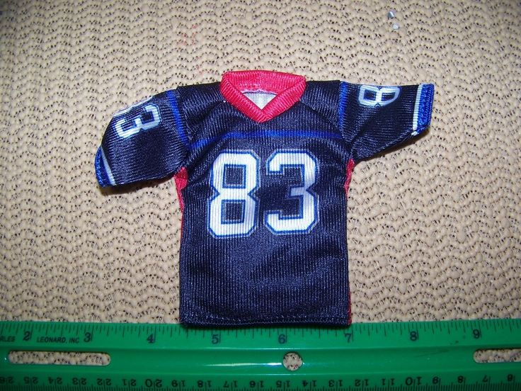 1:6th Scale Cy Girl/Female Buffalo Bills Football Jersey #83 Evens