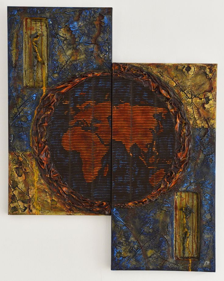 FELLINI Gallery | Pierre Mercier -Technique mixte-Acrylique