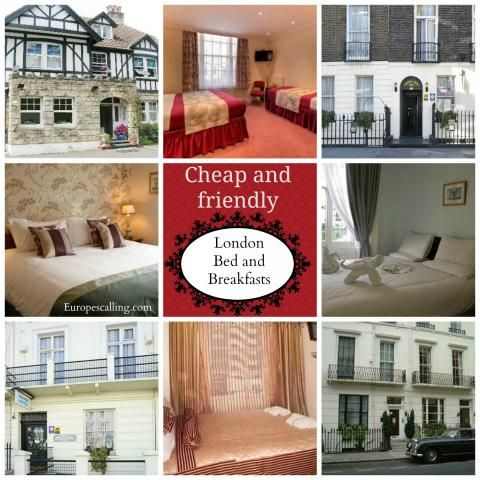 London Bed and Breakfasts