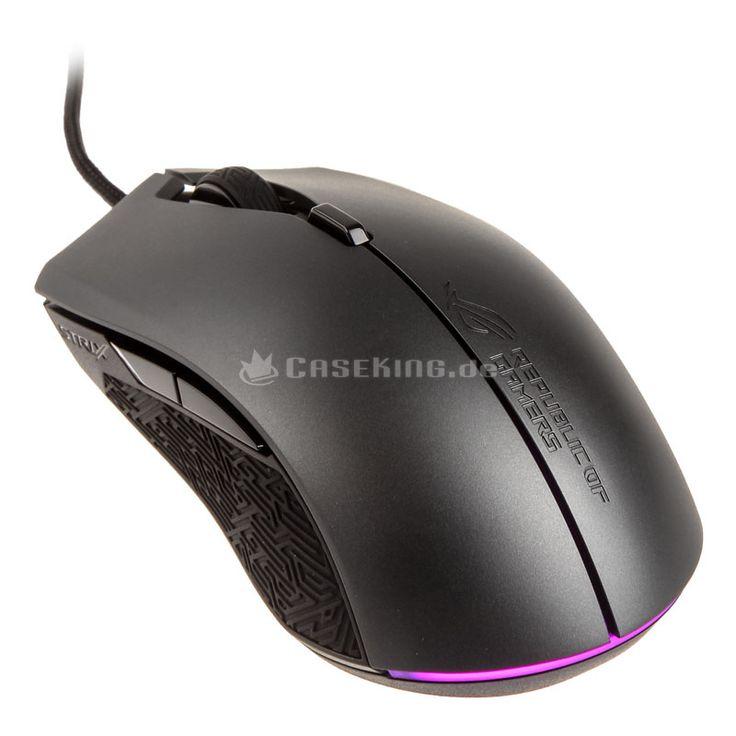 Ergomonisch hochgradig anpassbare Gaming-Maus mit 4 wechselbaren Top-Covern, 8 programmierbare Tasten & 7.200-DPI-Sensor
