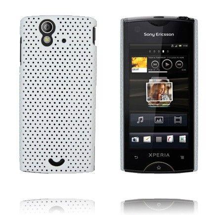 Atomic (Valkoinen) Sony Ericsson Xperia Ray Suojakuori