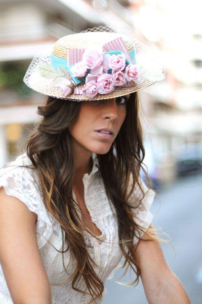 #Cherubina #tocados  #invitadas #boda #wedding #headpiece #canotier #chictoochic