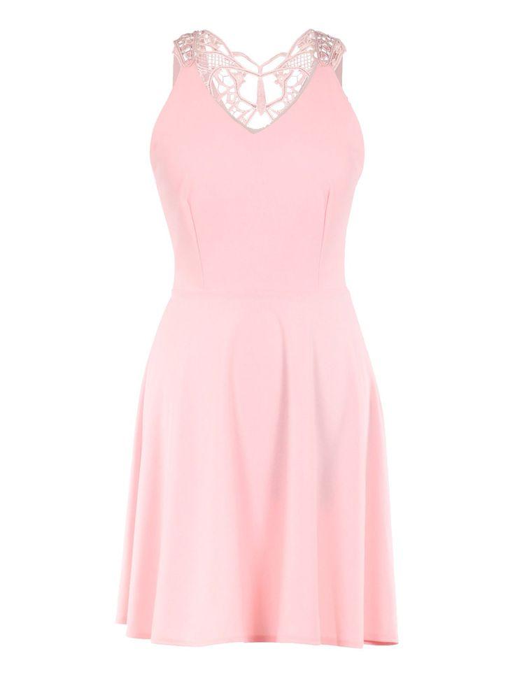 les 25 meilleures id es de la cat gorie robes rose p le sur pinterest robe chic jolies robes. Black Bedroom Furniture Sets. Home Design Ideas