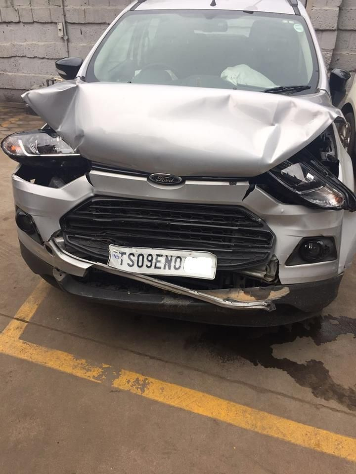 More than month has passed now! - Also, they suggested Harish once again to use his Insurance policy to get the car repaired. And Ford dealer said they'll now charge Rs. 250 per day as parking cost of that car at their service center.