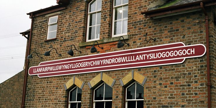 Even if you can figure out how to pronounce this town's name, we bet you won't want to.  At 58 letters long (or 53 letters, depending on whether you count the double-L as a single character as Welsh speakers do), it's a mouthful: Llanfairpwllg...