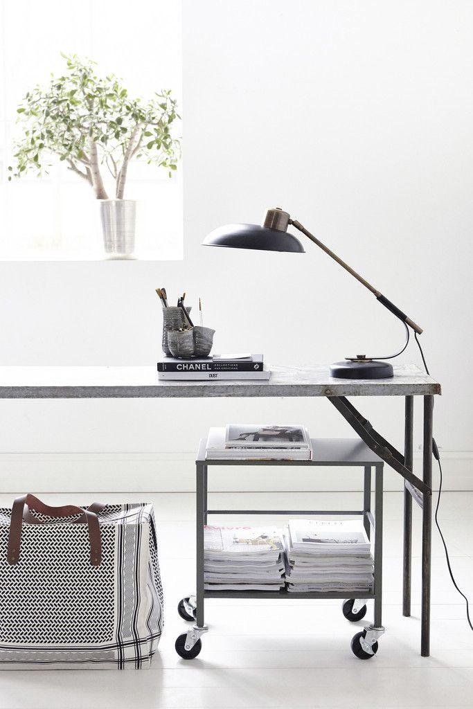 Art Deco bordlampe fra House Doctor - Bekko.dk   bekko.dk