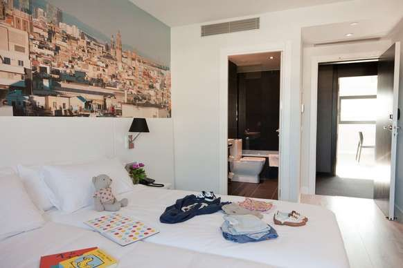 Andante Hotel Barcelona Family Room 2 Adults 2 Children