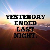 YON ENGLISH COM.: YESTERDAY-LAST,  THIS-TO, and  LAST-THIS