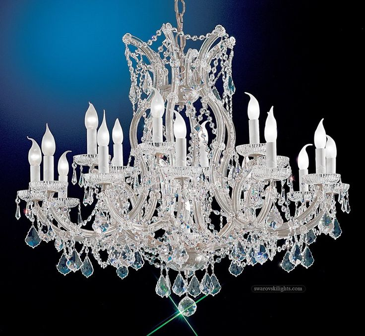17 Best Crystal Chandeliers Images On Pinterest