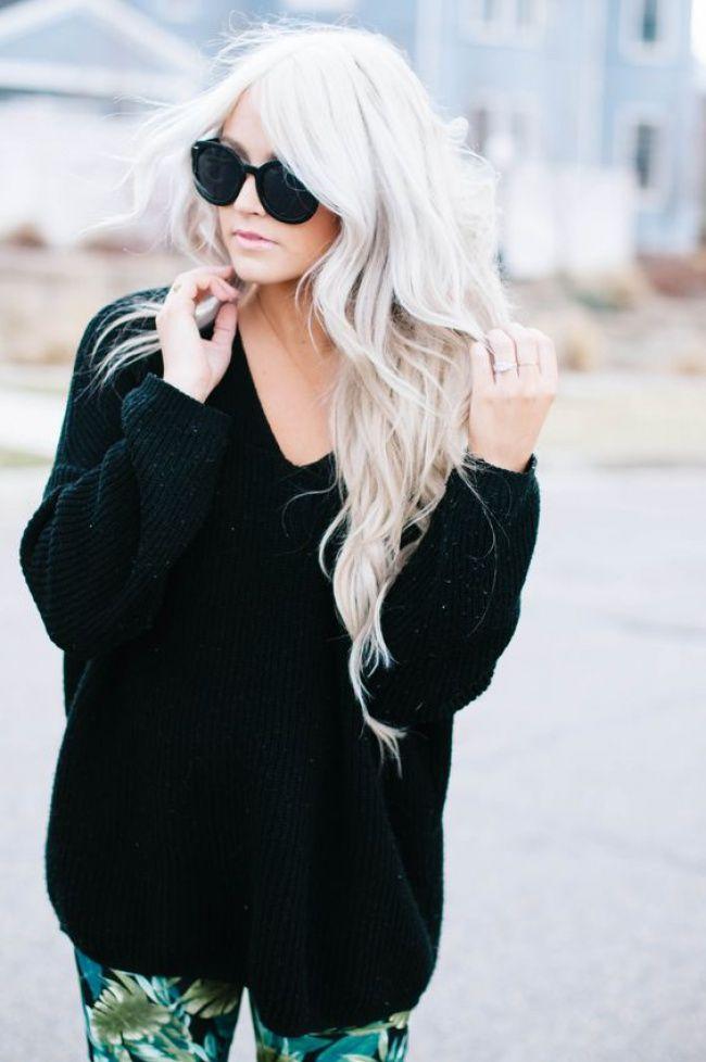 les 17 meilleures id es de la cat gorie blond polaire sur pinterest couleur blonde platine. Black Bedroom Furniture Sets. Home Design Ideas