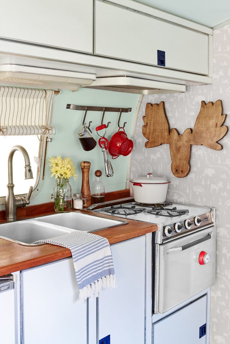 9 smart and stylish ways to update an old travel trailer
