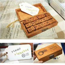 Nieuwe Collectie 30 stks/set Vintage Houten Kleine Letters Letters Stempels Seal Set Voor Festival Bruiloft Tap Teken Levert(China (Mainland))