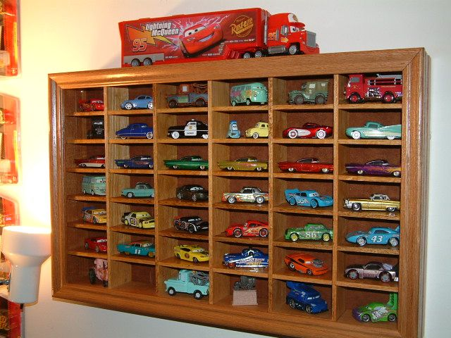 Make Toy Car Holder : Best images about diecast model display units on