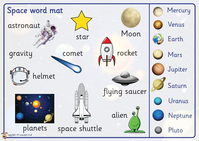 spacecraft vocabulary - photo #19