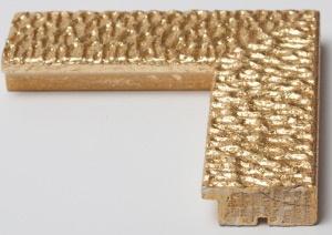 Cornice per quadri moderna con glitter. Disponibile dorata e argentata.