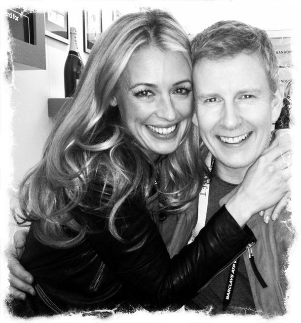 Newlyweds Cat Deeley and Patrick Kielty
