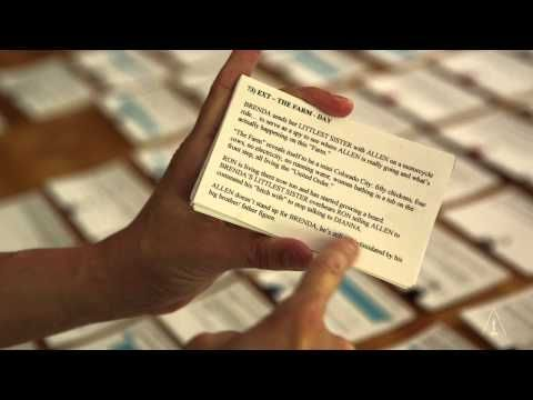 Dustin Lance Black on his creative process re: screenwriting.